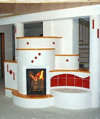 kachelofen neue kacheln kachelofen ber eck mit sitzbank. Black Bedroom Furniture Sets. Home Design Ideas